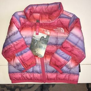 The North Face 0-3 Months girls jacket. NWT.